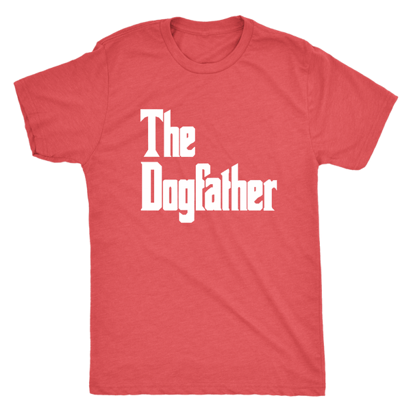 T-shirt - The Dogfather Men's Triblend T-Shirt