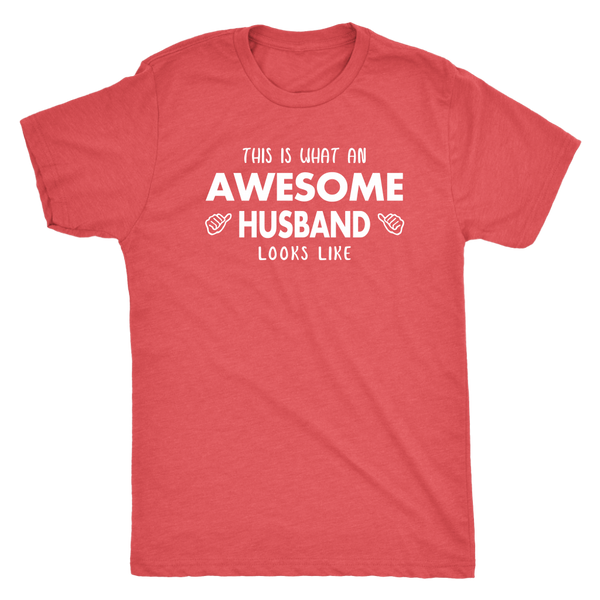 Awesome Husband Men's Triblend T-Shirt