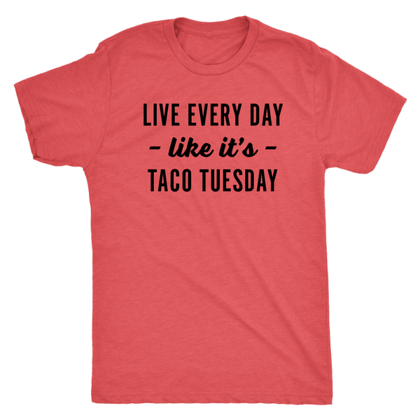 T-shirt - Taco Tuesday Men's T-Shirt