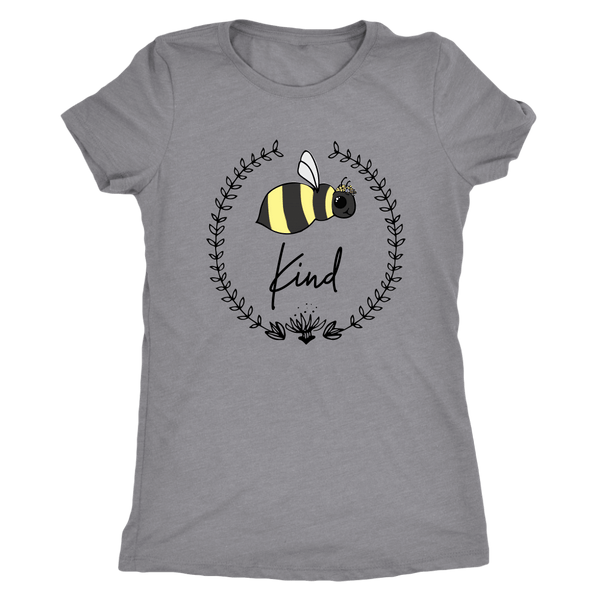 T-shirt - Bee Kind Triblend Fitted Tee