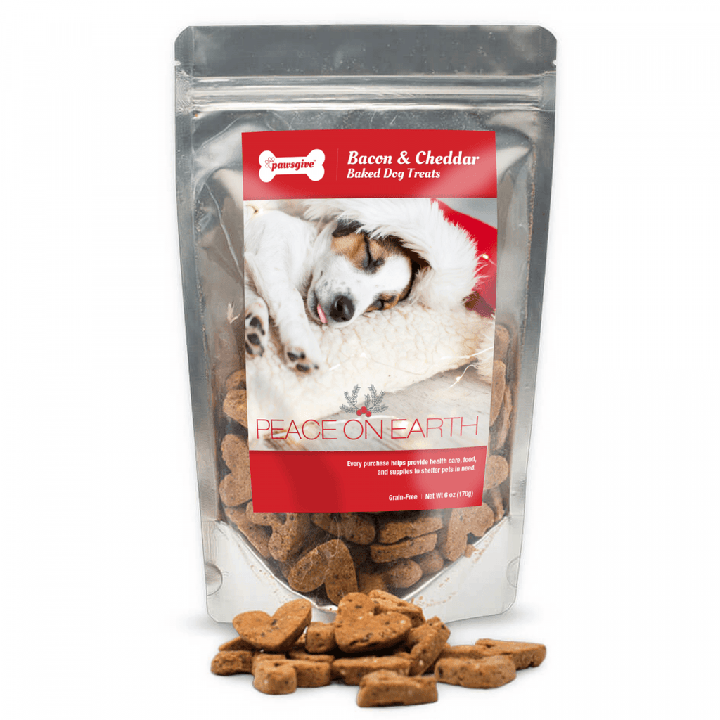 PawsGive - Gluten-Free Christmas Crunchy Dog Cookies