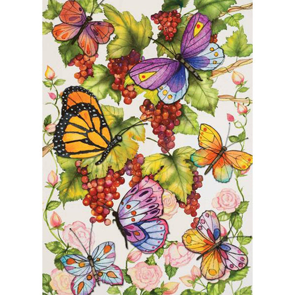 Toland Home Garden - Toland Vineyard Fruit Garden Flag