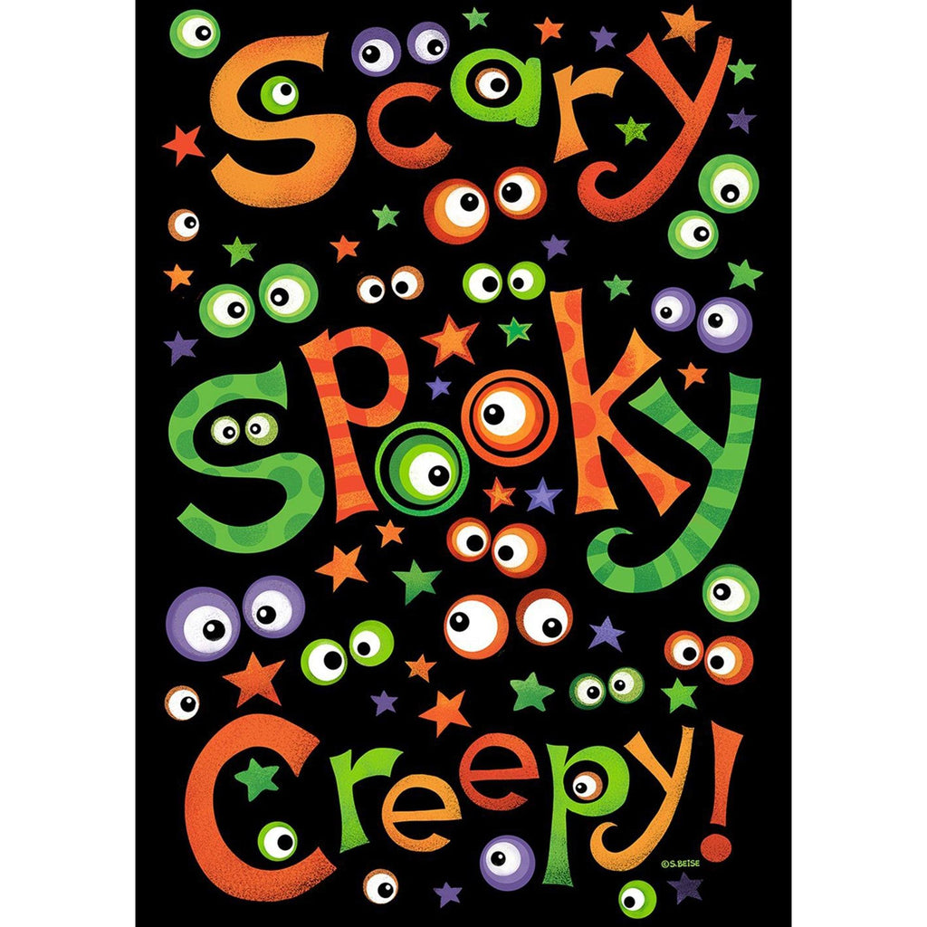 Toland Home Garden - Scary Spooky Creepy Garden Flag