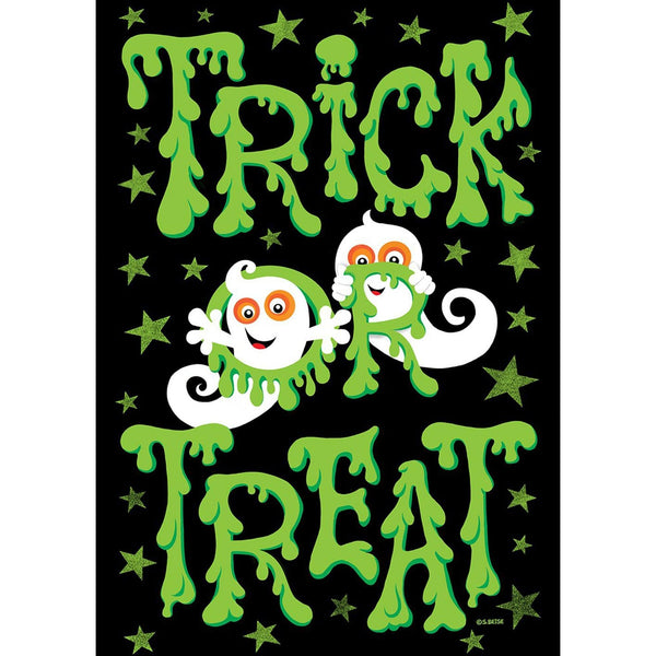 Toland Home Garden - Slimy Trick Or Treat Garden Flag