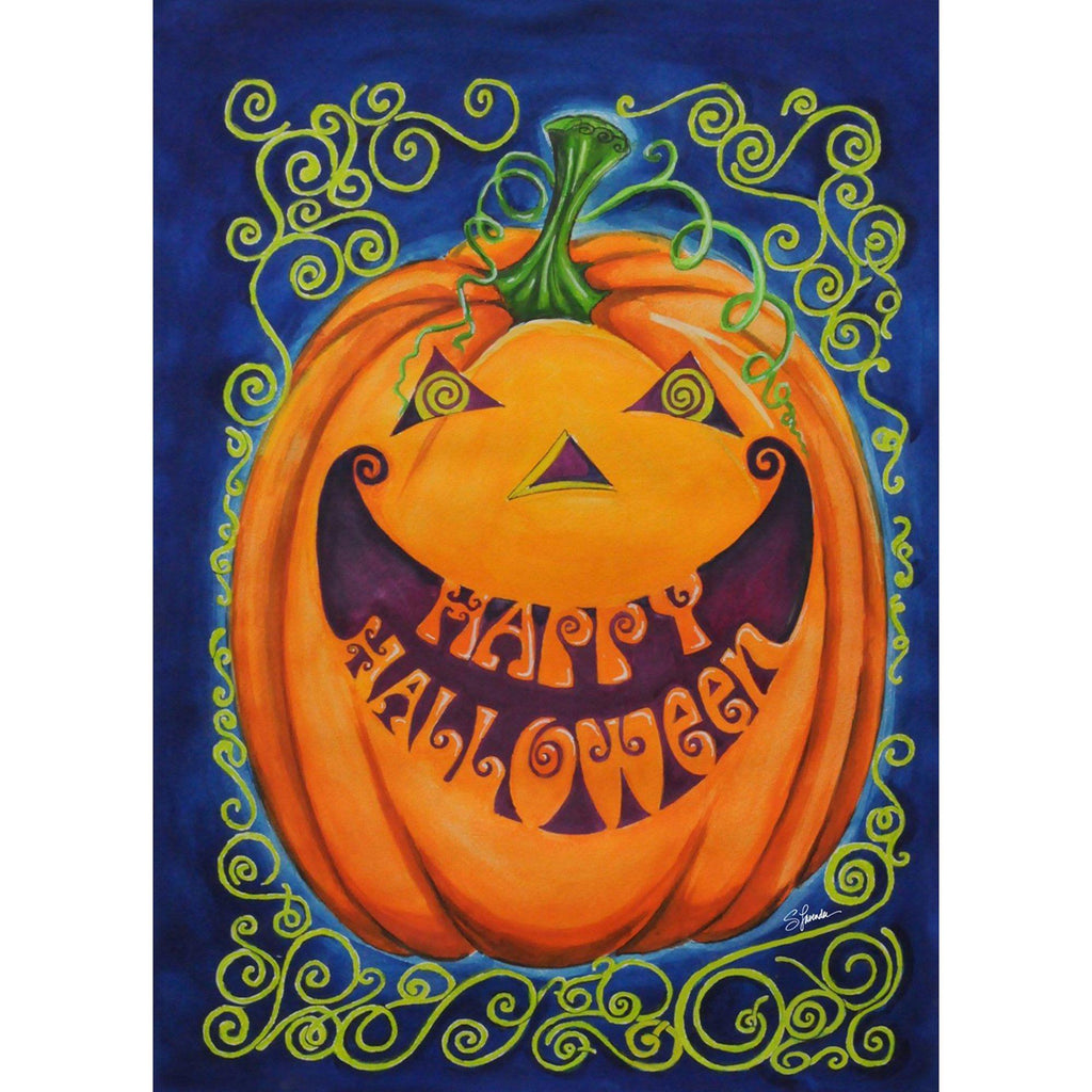 Toland Home Garden - Happy Halloween Spooky Garden Flag