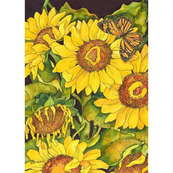 Toland Home Garden - Sunflower Delight Garden Flag