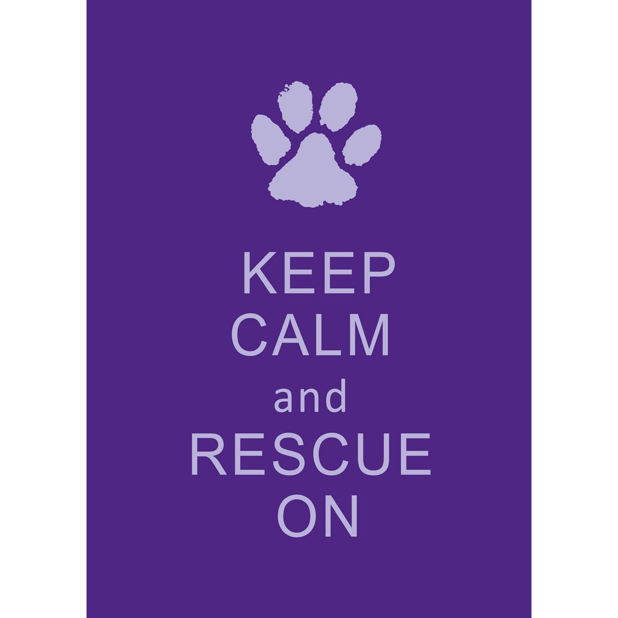 Toland Rescue On Double Sided Garden Flag The Animal Rescue Site