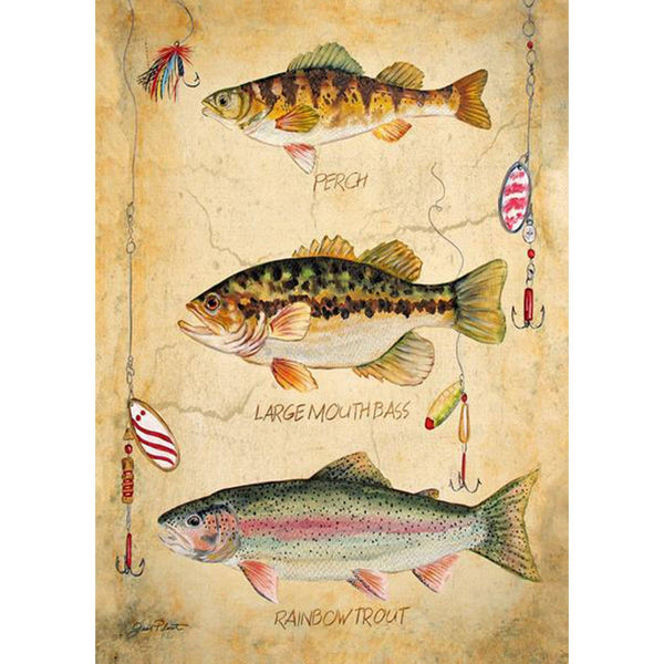Toland Home Garden - Fresh Fish Garden Flag