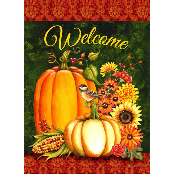 Toland Home Garden - Welcome Gourds Garden Flag