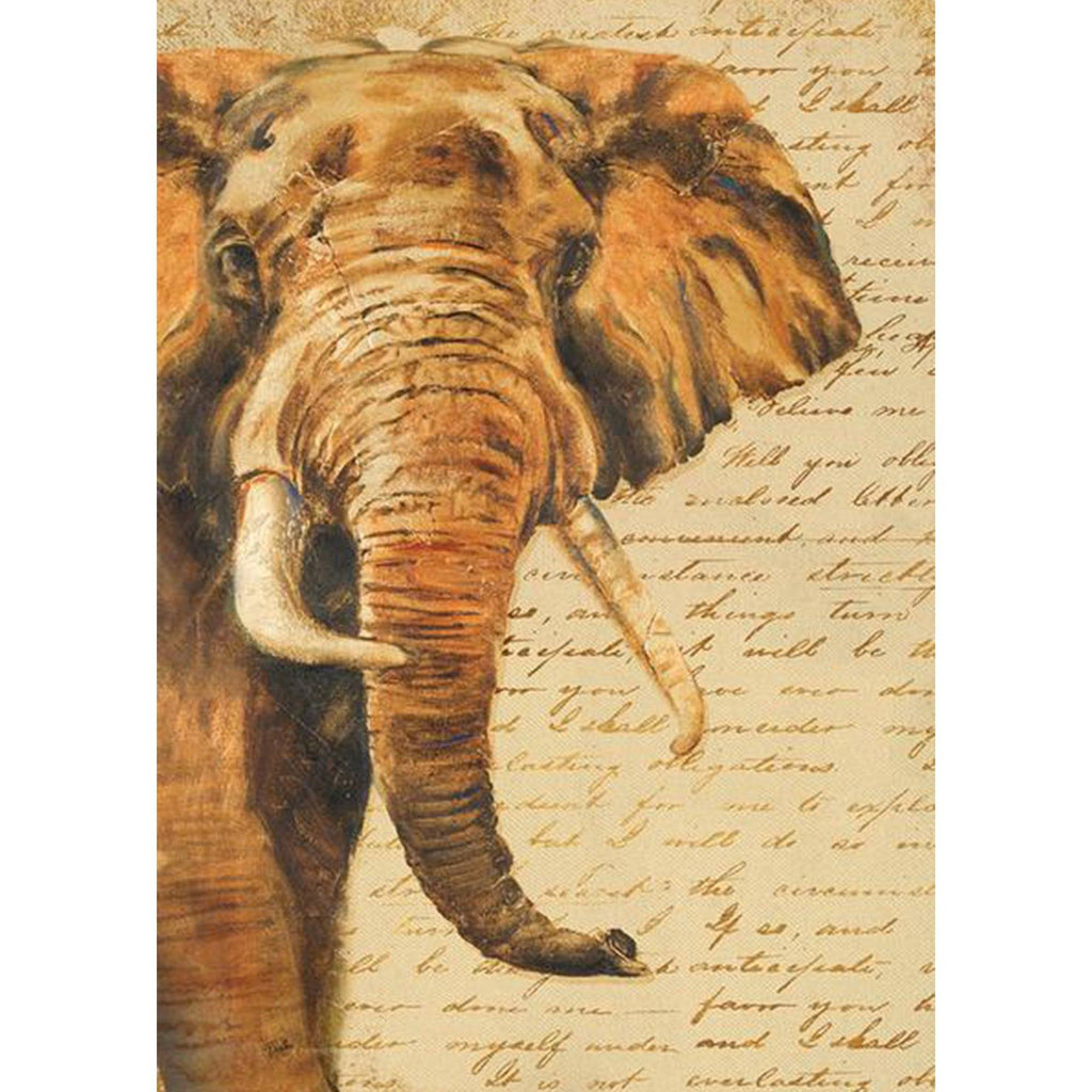 Toland Home Garden - Hand Painted Elephant Garden Flag