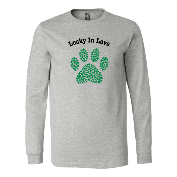 T-shirt - Lucky In Love Long Sleeve Tee