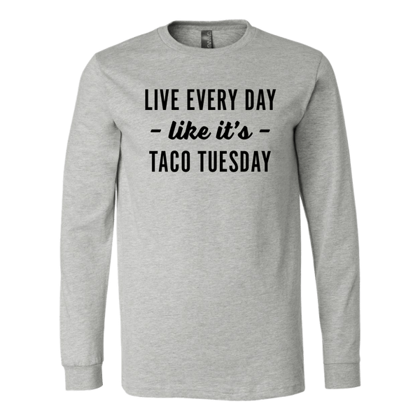 T-shirt - Taco Tuesday Long Sleeve T-Shirt