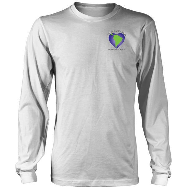 T-shirt - Protect Earth's Lungs Long Sleeve Tee