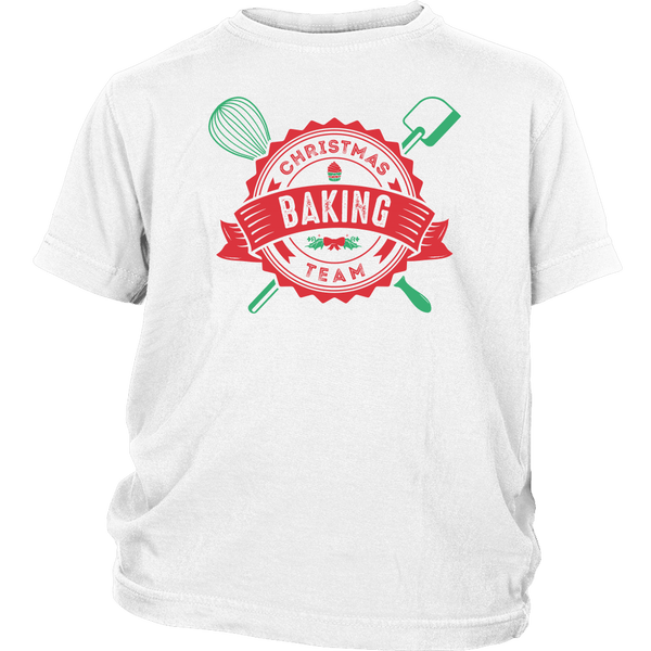 T-shirt - Christmas Baking Team Youth T-Shirt