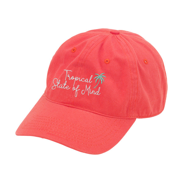 Tropical State of Mind Coral Cap