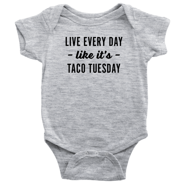 T-shirt - Taco Tuesday Infant Onesie