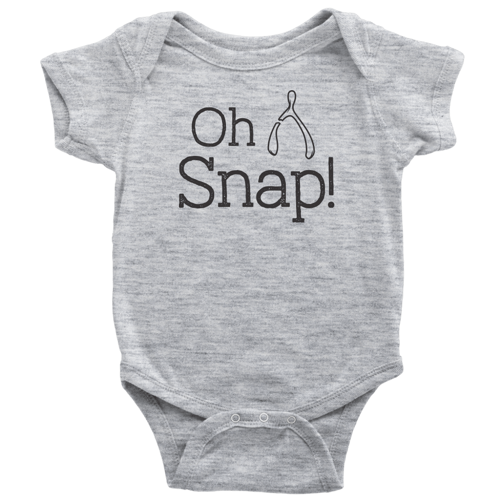T-shirt - Oh Snap Infant Onesie