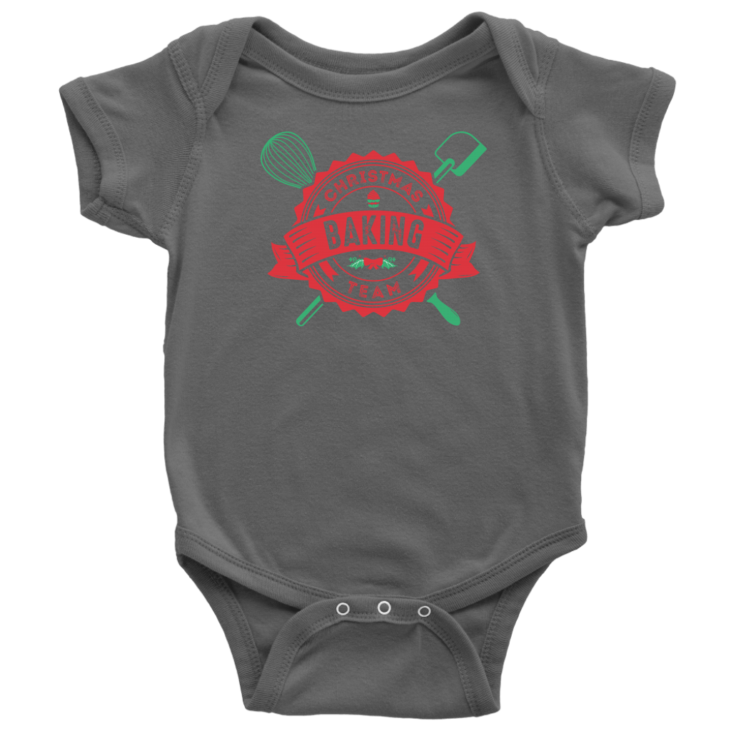 T-shirt - Christmas Baking Team Infant Onesie