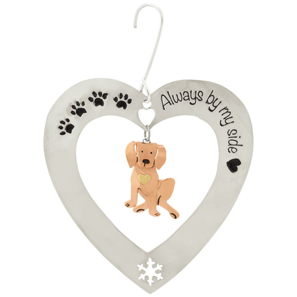 Always By My Side Puppy Ornament