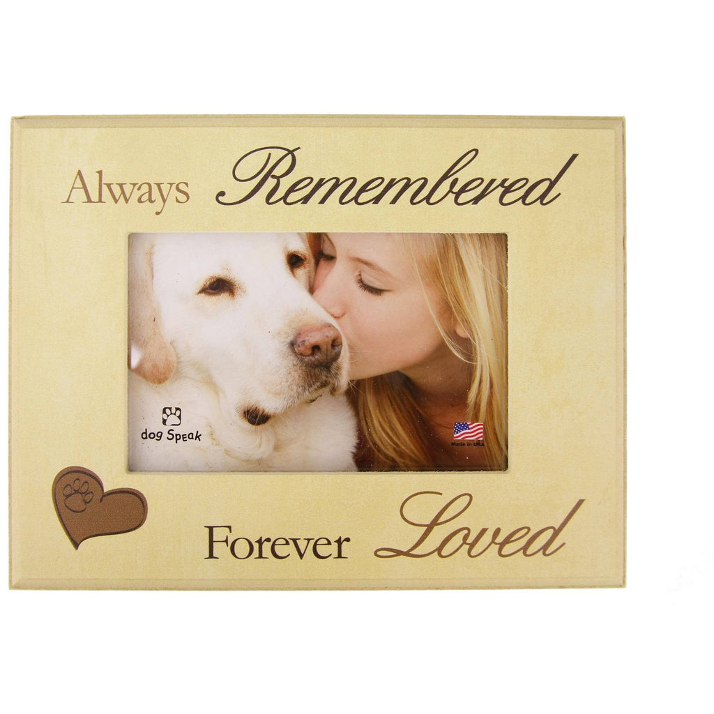 Always Remembered Forever Loved Photo Frame