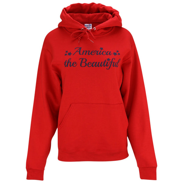 America The Beautiful Hooded Sweatshirt