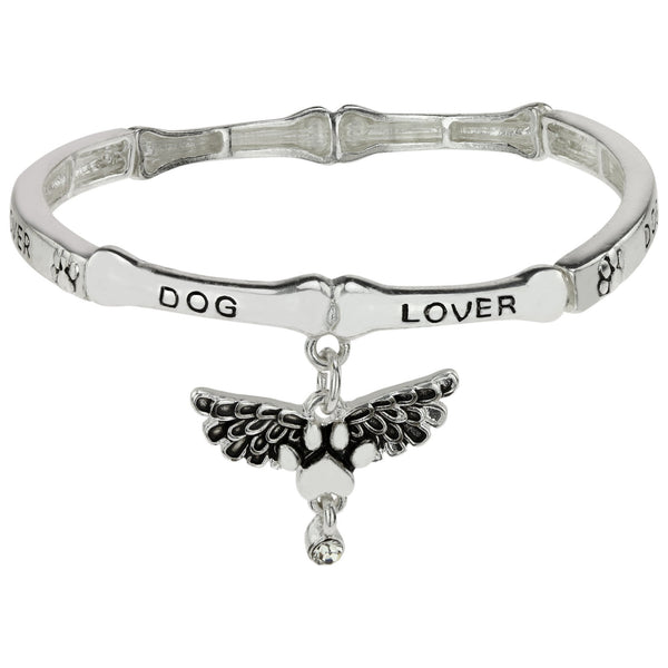 Angel Wings Dog Paw Bracelet