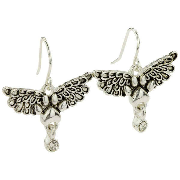 Angel Wings Paw Earrings