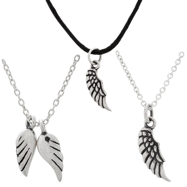 Angels By My Side Sterling Necklace