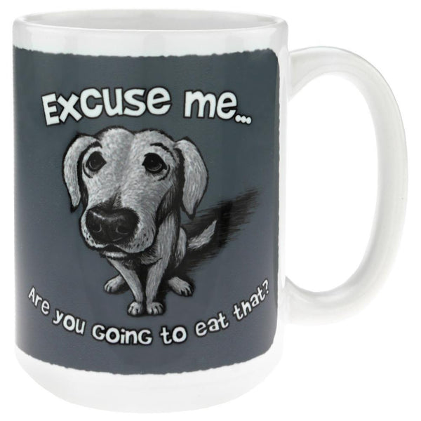 Are You Going To Eat That? Dog Mug