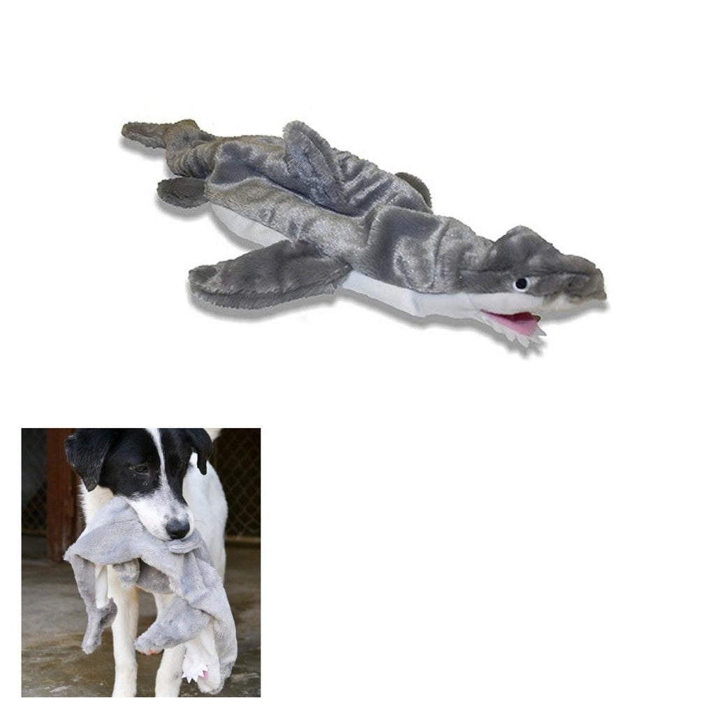 Aussie Naturals® Floppies Shark Dog Toy