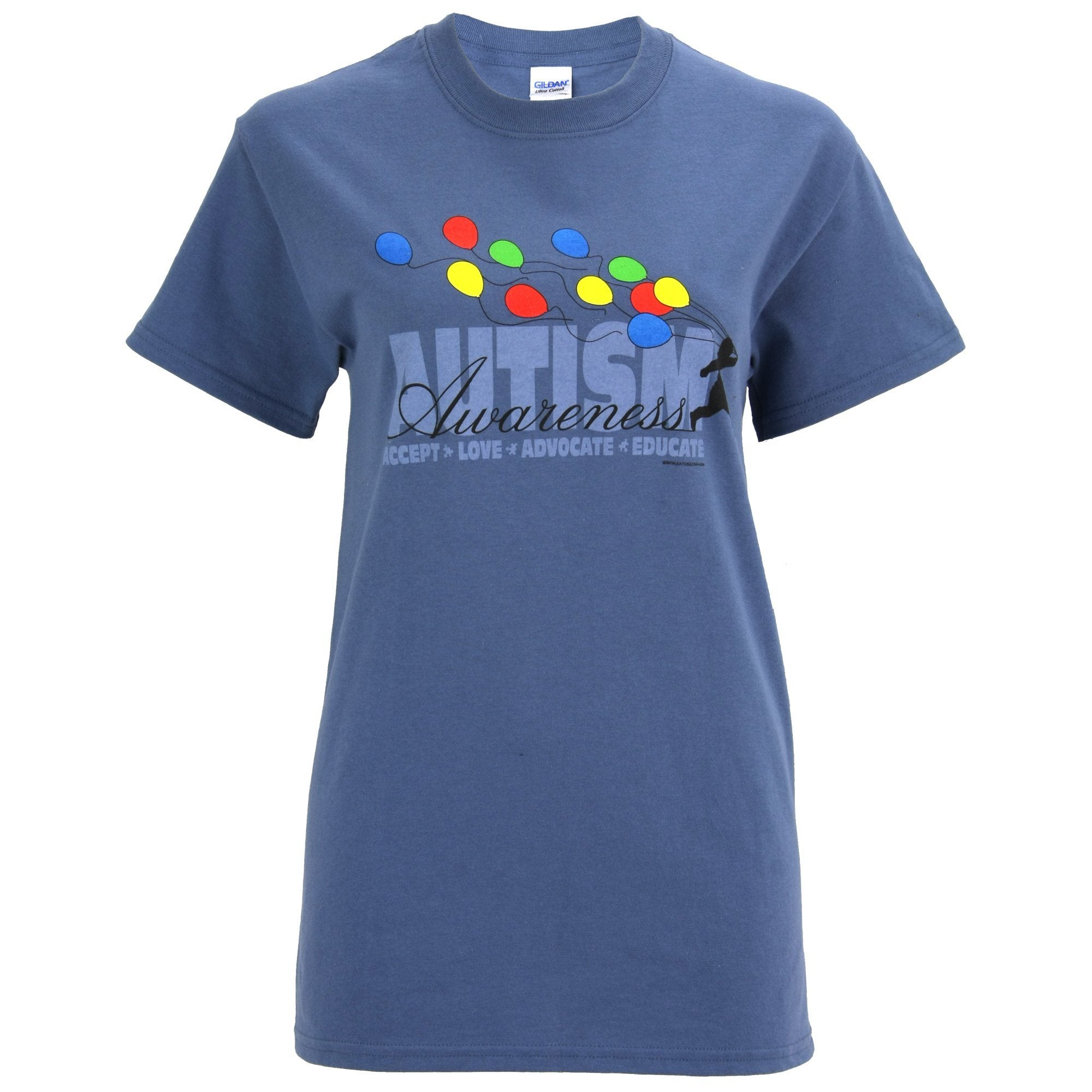 99b9761708c Autism Awareness Balloons T-Shirt| The Autism Site
