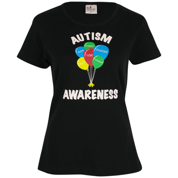 Autism Awareness Balloons Tee