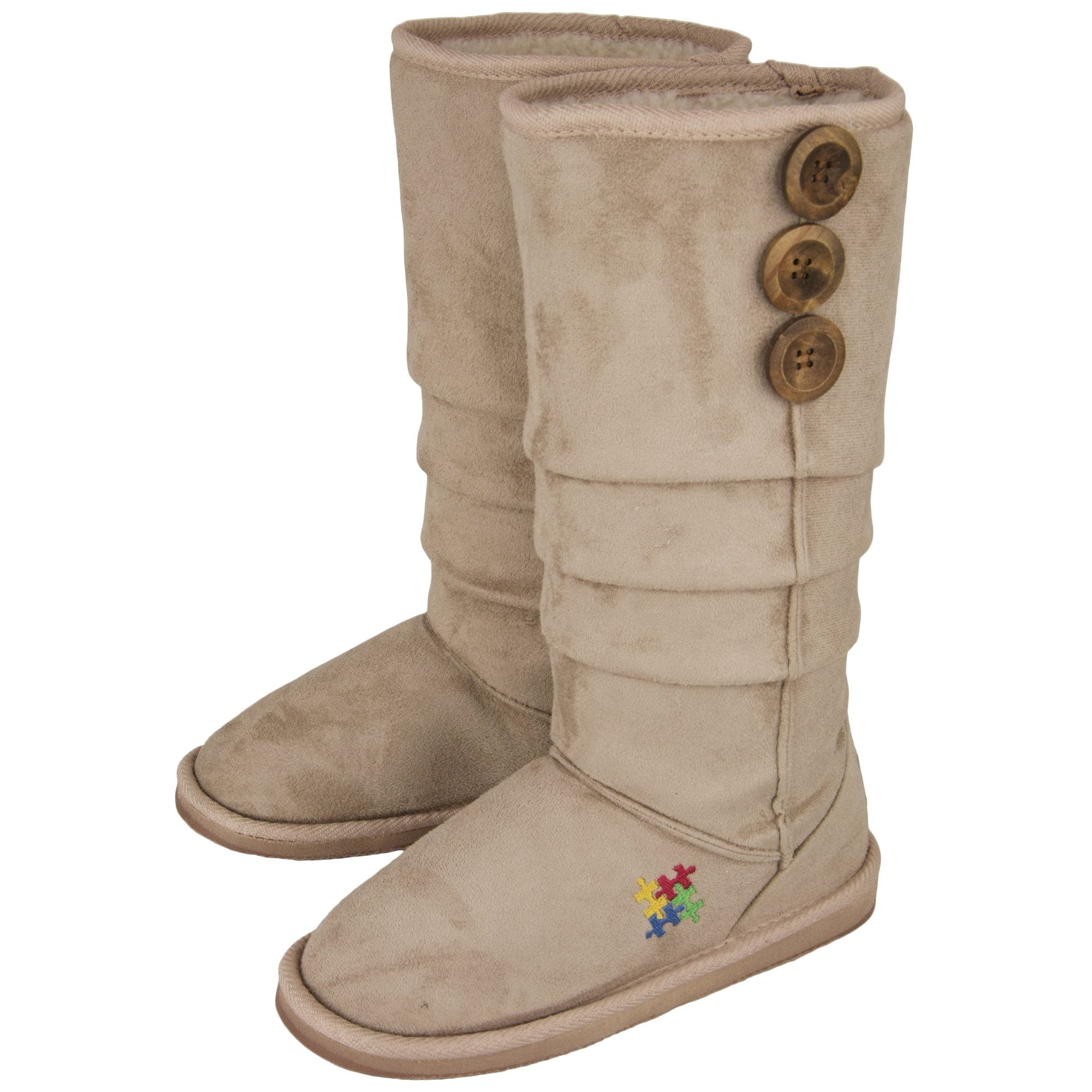 887ab93503e Autism Awareness Slouch Boots| The Autism Site