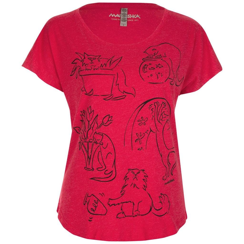 Bad Cats Dolman Tee