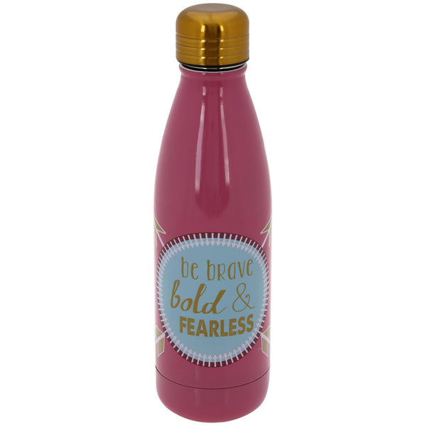 Be Brave Stainless Steel Water Bottle