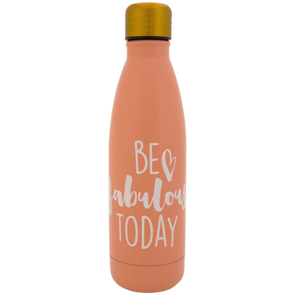 Be Fabulous Stainless Steel Water Bottle
