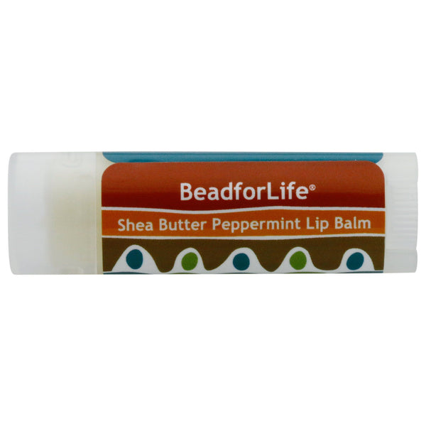 BeadforLife® Peppermint Shea Lip Balm