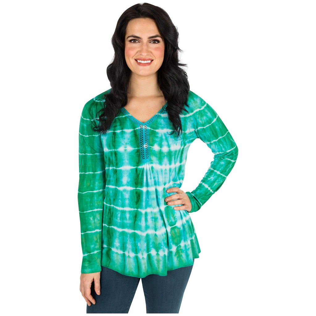 Being Green Long Sleeve Tunic