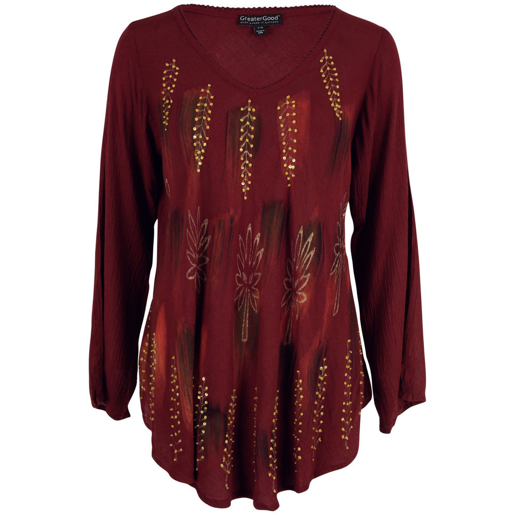 Blazing Trails Long Sleeve Tunic