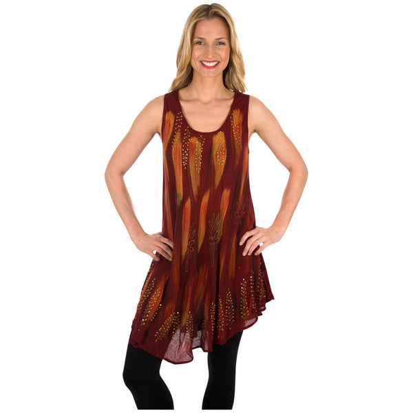 Blazing Trails Sleeveless Tunic