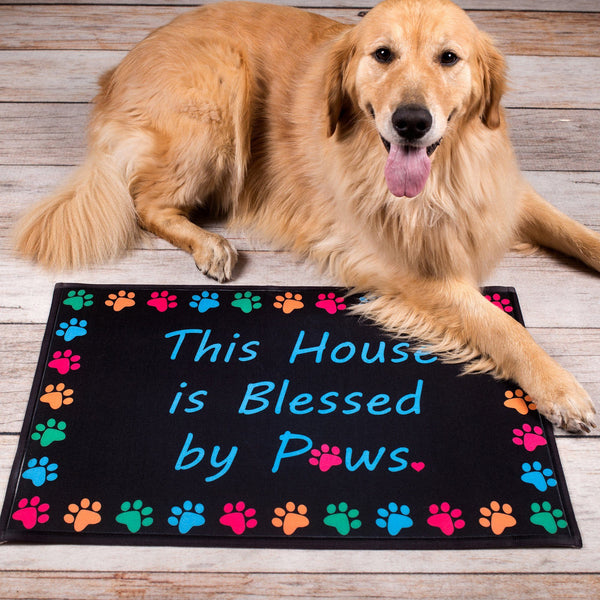 Blessed By Paws Indoor/Outdoor Mat