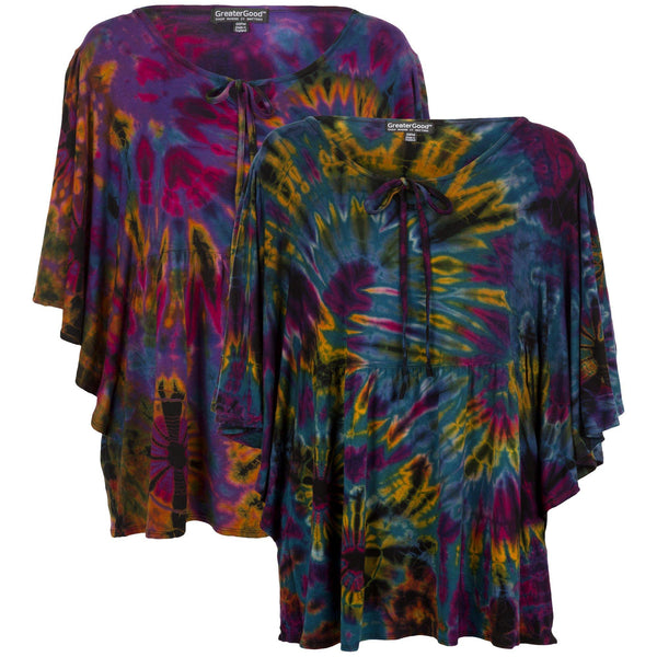 Brilliant Spirit Butterfly Sleeve Top
