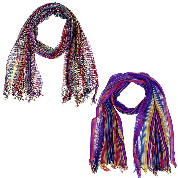 Bring On The Color Scarf