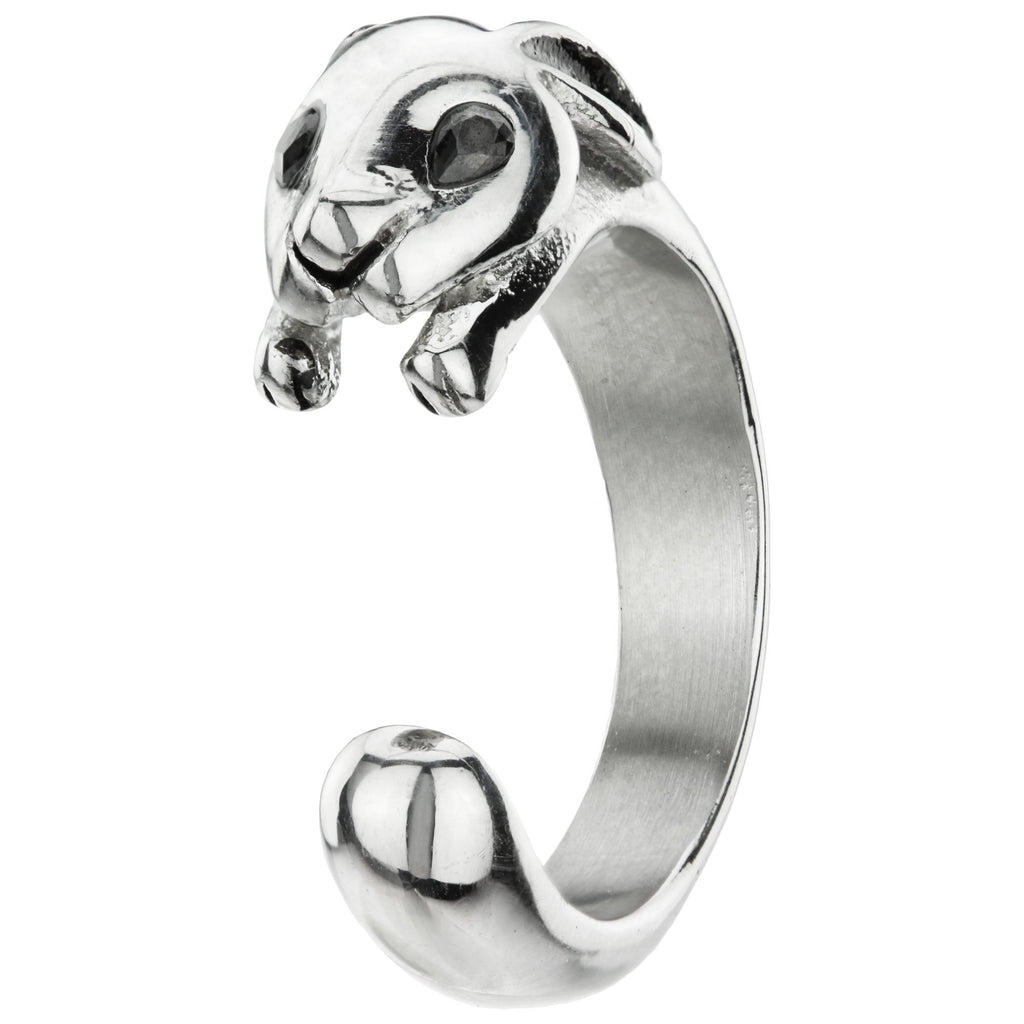 Bunny Stainless Steel Ring