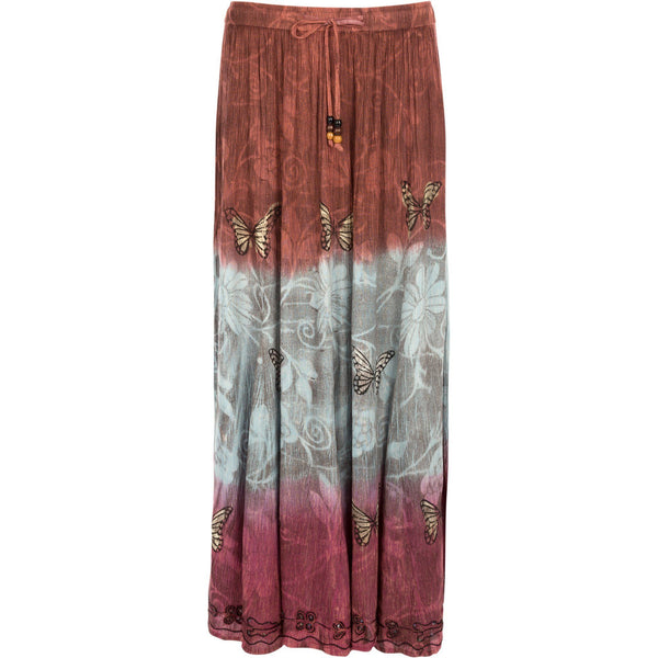 Butterflies At Play Maxi Skirt