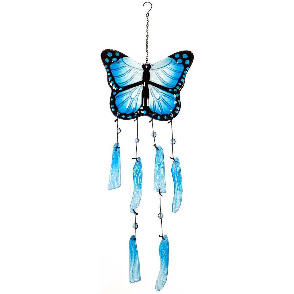 Butterfly Dreams Glass Wind Chime