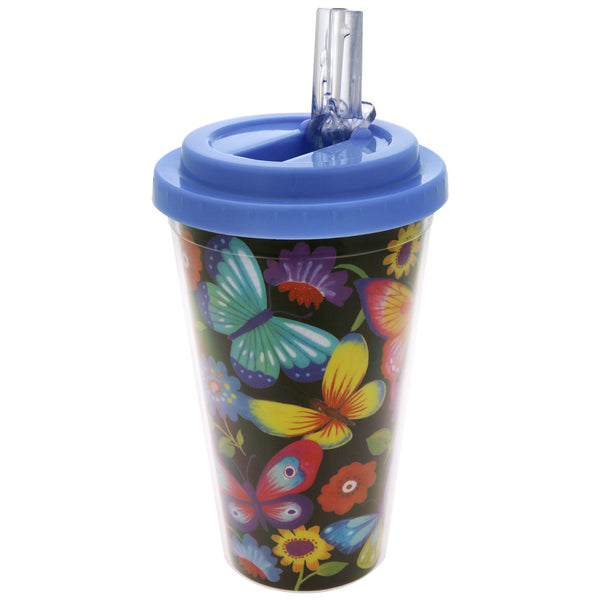 Butterfly Field Travel Cup