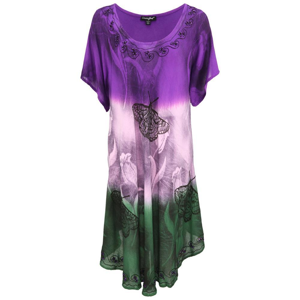 Butterfly Garden Short Sleeve Tunic