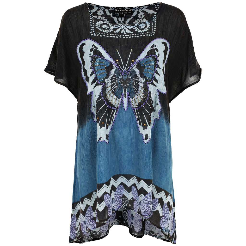 Butterfly Kisses Oversize Tee