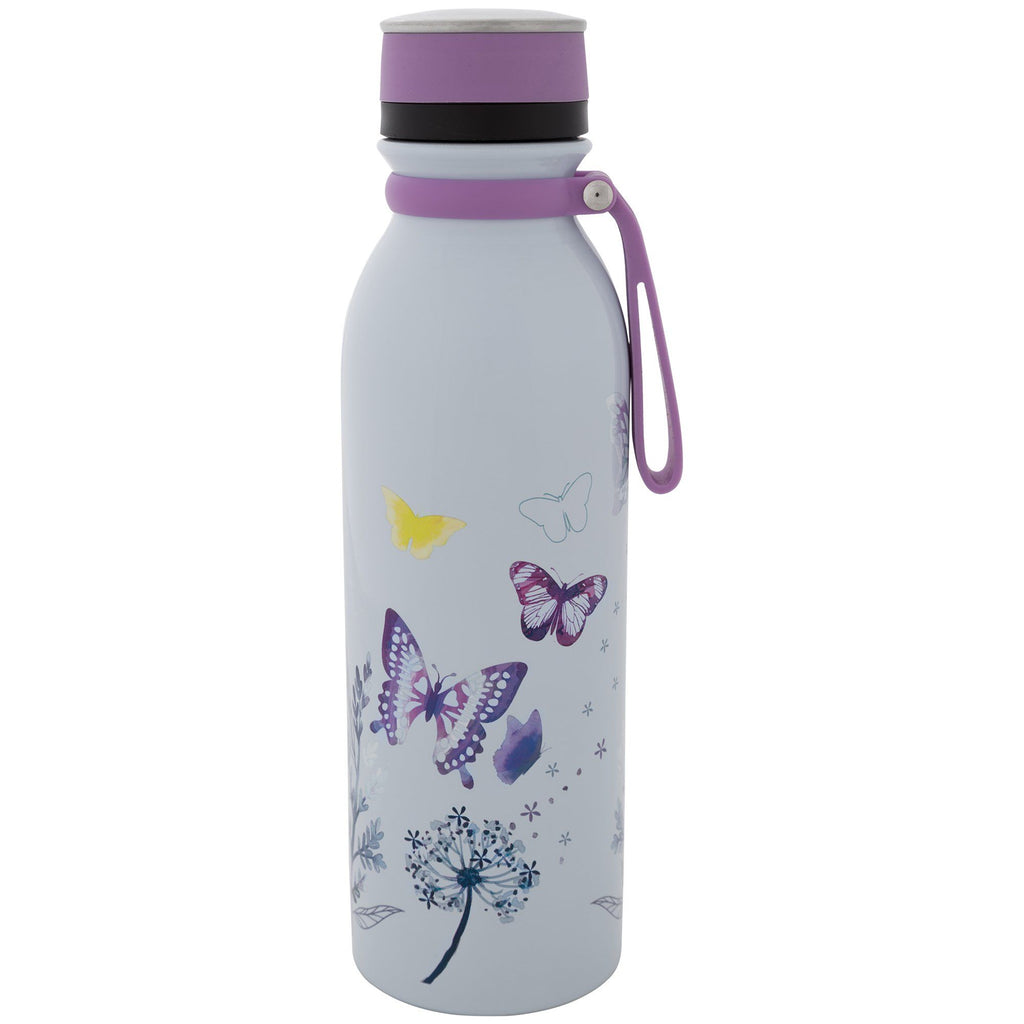 Butterfly Kisses Stainless Steel Water Bottle